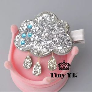 New Design Sparkly Cloud Hair Clips Accessories